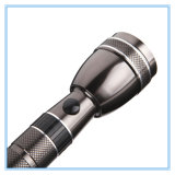 Tocha de alumínio de alta qualidade recarregável 3W Power LED Torch