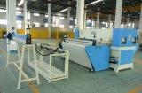 Banda transportadora automática del PLC que introduce la cortadora plana