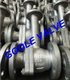 Válvula de esfera criogênica de haste estriada com flange de 150 libras / 300 libras (GADQ41F)