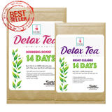 Tè di erbe organico del Detox che dimagrisce il tè di perdita di peso del tè (14 - programma di giorno)