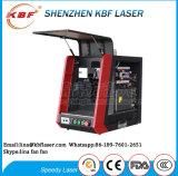 Da marcação portátil do laser da fibra da promoção 20With30With50W máquina &Engraving para Spoon/ABS/Pes/PVC/Cooper/Titanium