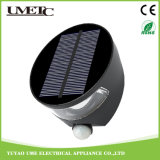 Luz del panel solar del sensor de la pared de la iluminación al aire libre LED de PIR