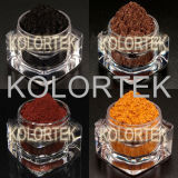 Pigmentos Matte cosméticos do tom de Kolortek