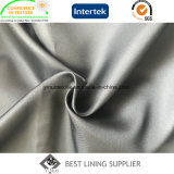 革のジャケット100%光沢がある極度の柔らかい100d*100dポリエステルPdのあや織りのライニング