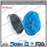 Couverture antidérapage chirurgicale médicale remplaçable de chaussure de tissu de POINT