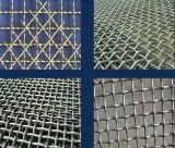 Treillis métallique tissé de /Crimped de treillis métallique de /Square de treillis métallique