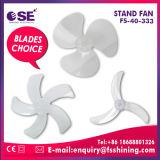 Ventilatore dei prodotti di modo ventilatore poco costoso d'argento lucido del pavimento da 16 pollici