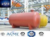 Conteneur approuvé de réservoir sous pression de l'acier du carbone de la bonne qualité 24000L d'ASME 22bar pour R22, R134A, R32, LPG