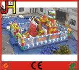 Castello gonfiabile, città gonfiabile di divertimento per il gioco dei bambini