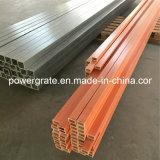 Tubo rectangular de la fibra de vidrio de FRP/GRP
