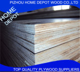 La película de Pizhou hizo frente a la madera contrachapada marina de la madera contrachapada para el encofrado concreto