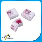 Caixa de jóias de papel feito sob medida de luxo