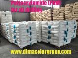Polimero del poliacrilammide utilizzato nell'industria tessile