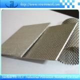 Treillis métallique aggloméré par 316L de SUS pour la filtration