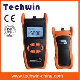 Contador de potencia óptico multi de fibra de la función de Techwin Tw3208ea