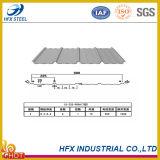 Strato d'acciaio ondulato del tetto colorato 28 calibri