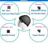 Tampão de tecelagem ajustável para a fatura da peruca