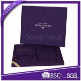 High-End Imported Velvet Fabric Jóias Gift Box Embalagem