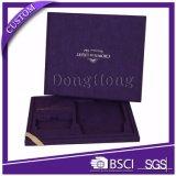 Imballaggio incluso di qualità superiore del contenitore di regalo dei monili del tessuto del velluto