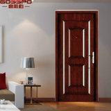 Puertas clasificadas del fuego de madera de la chapa del roble solas (GSP4-018)