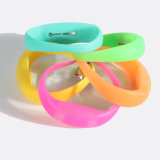 Wristbands repulsivos impressos logotipo do silicone do mosquito de Debossed
