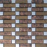Mosaico de cristal de la hoja de oro (VMW3309)