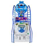 De muntstuk In werking gestelde het Ontspruiten van de Arcade van het Basketbal Console van het Spel voor de BinnenMachine van het Spel van het Vermaak (zj-BG05)