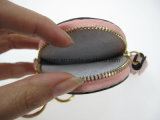 작은 동전 포켓 소형 돌린 부대 또는 열쇠 고리 지갑 (16NW027A)
