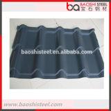 Hoja acanalada revestida del color ligero material de acero