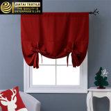 Novo drapeja cortinas completas da cozinha do Natal dos tratamentos de indicador