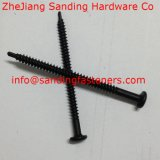 C1022 Pan Head Harden noir Zingué Self Drilling Vis