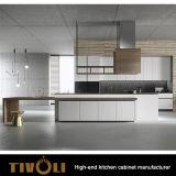 方法デザインガラスドアの台所家具(AP047)