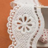 Hometextiles를 위한 최신 판매 새로운 디자인 면 크로셰 뜨개질 레이스
