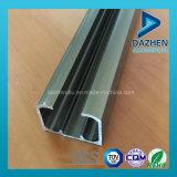 Profil en aluminium de 6063 alliages pour le longeron de piste de garde-robe de porte