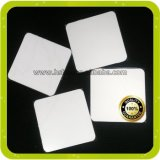Blank White Coating Sublimation Printing MDF Cork Wooden Coaster