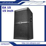 골라내십시오 15 인치 음향 기재 확성기 직업적인 스피커 (EA 15)를