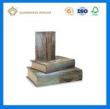 Rectángulos Shaped del libro decorativo de encargo de la cartulina (fábrica paperpackaging de guangzhou)
