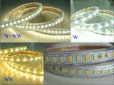 LED SMD5730 5630二重カラーLEDストリップ