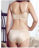 Женщины оптовой фабрики дешевые цветастые Non-Трассируют комплекты бюстгальтера OEM нижнего белья