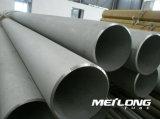 Tubo de acero inoxidable de En10216-5 X7crninb18-10 1.4912