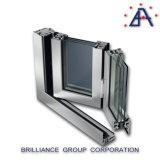 Finestra Bi-Piegante/finestra di alluminio/sistema piegante