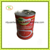 Eingemachte Tomatenkonzentrat-Qualität Brix von 22 bis 30