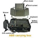 Caméra vidéo sous-marine V8-100 (câble de surveillance de tuyauterie industrielle de système de caméra vidéo de télévision en circuit fermé de 100m)