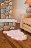 Alfombra blanca 100% Australia Merino tapa de piel de oveja para el bebé