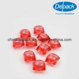 水Souble 15g ODM&OEMの赤い4Xによって集中される液体のポッドの洗剤、洗濯の袋