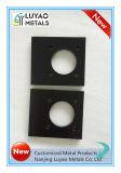 Custom CNC Usinagem de alumínio 6061 6082 7075 com anodização de preto
