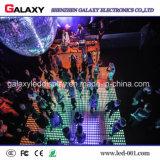 Sala de baile interactiva de P6.25/P8.928 Digitaces LED con la pantalla sensitiva al contacto del LED