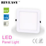 helles Panel der runden Ecken-12W quadratisches Acryl-LED mit Ce&RoHS LED Panel-Lampe