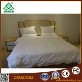 Hotelzimmer-amerikanische Art Balck hölzerner Bett-Entwurf