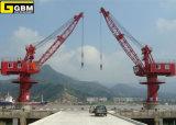 embarcadero Lleno-Giratorio de 16t Gbm/grúa portuaria